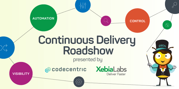 Banner Continuous Delivery Roadshow