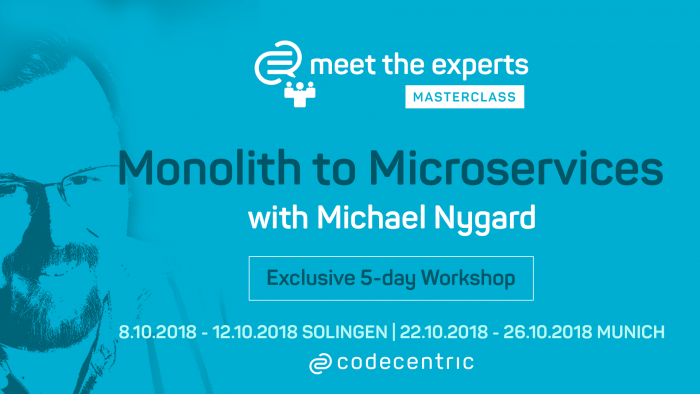 Meet the experts Masterclass Microservices Michael Nygard